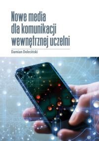 Nowe media dla komunikacji wewnętrznej - okładka książki