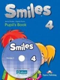 Smiles 4 PB (+ ieBook) - okładka podręcznika
