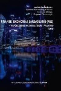 Finanse, ekonomia i zarządzanie. - okładka książki