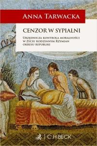 Cenzor w sypialni Urzędnicza kontrola - okładka książki