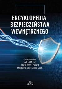 Encyklopedia bezpieczeństwa wewnętrznego - okładka książki