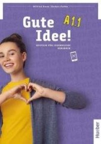 Gute Idee! A1.1 KB - okładka podręcznika