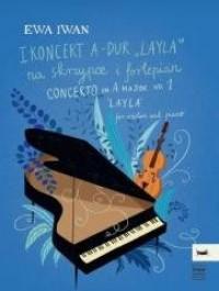 I Koncert A-dur  Layla  na skrzypce - okładka książki
