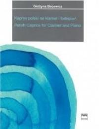 Kaprys polski w transkrypcji na - okładka książki