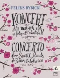 Koncert dla małych rąk op. 53 na - okładka książki