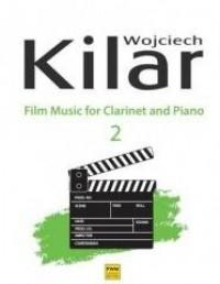 Muzyka filmowa na klarnet i fortepian - okładka książki