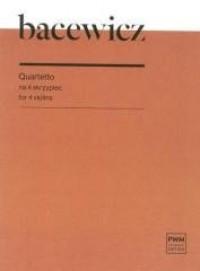 Quartetto na 4 skrzypiec - okładka książki