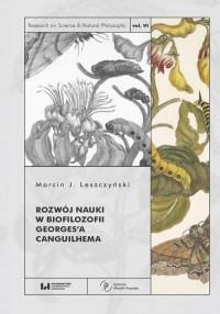 Rozwój nauki w biofilozofii Georges - okładka książki