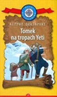 Tomek na tropach Yeti - okładka książki