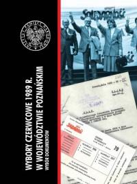 Wybory czerwcowe 1989 r. w województwie - okładka książki