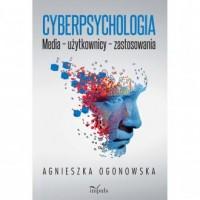Cyberpsychologia  Media – użytkownicy - okładka książki