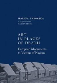 Art in places of death - okładka książki