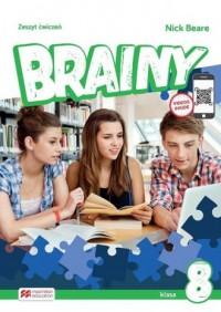 Brainy 8 WB - okładka podręcznika