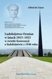 Ludobójstwo Ormian w latach 1915-1923 - okładka książki