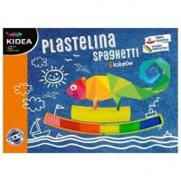Plastelina Kidea spaghetti 8 kolorów - zdjęcie zabawki, gry