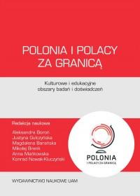 Polonia i Polacy za granicą - kulturowe - okładka książki