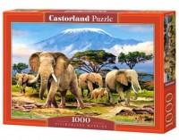Kilimanjaro Morning (puzzle - 1000 - zdjęcie zabawki, gry