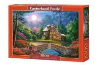 Cottage in the Moon Garden (puzzle - zdjęcie zabawki, gry