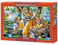 Tigers by the Stream (puzzle - - zdjęcie zabawki, gry