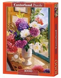 Still Life with Hydrangeas (puzzle - zdjęcie zabawki, gry
