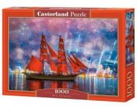 Red Frigate (puzzle - 1000 elem.) - zdjęcie zabawki, gry