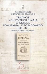 Tradycje Konstytucji 3 maja w okresie - okładka książki