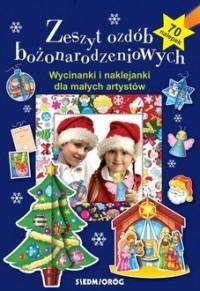 Zeszyt ozdób bożonarodzeniowych - okładka książki