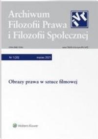 Archiwum Filozofii Prawa i Filozofii - okładka książki