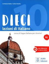 Dieci A1 Lezioni di italiano - okładka podręcznika