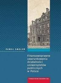 Finansowoprawne uwarunkowania działalności - okładka książki