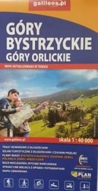 Góry bystrzyckie I góry orlickie - okładka książki