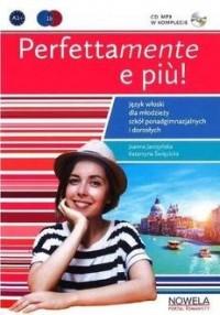Perfettamente e piu! 1B podręcznik - okładka podręcznika