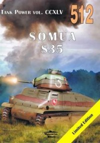 Tank Power vol.  CCXLV 512 Somua - okładka książki