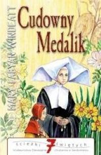 Cudowny medalik - okładka książki