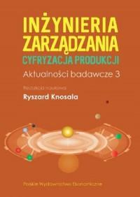 Inżynieria zarządzania Cyfryzacja - okładka książki