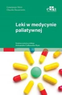 Leki w medycynie paliatywnej - okładka książki