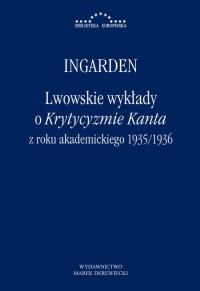 Lwowskie wykłady o Krytyzmie Kanta - okładka książki