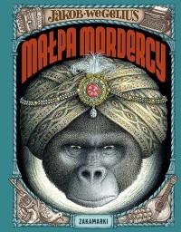 Małpa mordercy - okładka książki