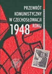 Przewrót komunistyczny w Czechosłowacji - okładka książki
