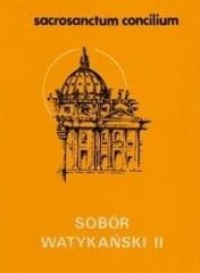 Sacrosanctum concilium - okładka książki