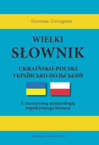 Wielki słownik ukraińsko-polski - okładka książki