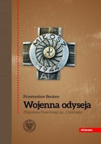 Wojenna odyseja Zbigniewa Piaseckiego - okładka książki