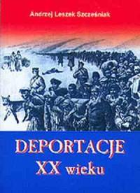 Deportacje XX wieku - okładka książki