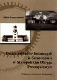 Dzieje zakładów hutniczych w Samsonowie w Staropolskim Okręgu Przemysłowym - okładka książki