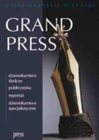 Grand Press. Dziennikarskie hity 2002 - okładka książki