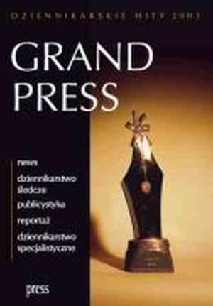 Grand Press. Dziennikarskie hity - okładka książki