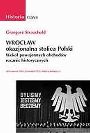 Historia. Wrocław - okazjonalna - okładka książki