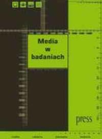 Media w badaniach - okładka książki