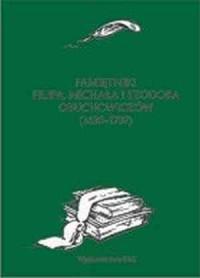 Pamiętniki Filipa, Michała i Teodora Obuchowiczów (1630-1707) - okładka książki