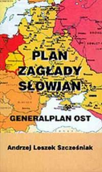 Plan Zagłady Słowian. Generalplan OST - okładka książki
